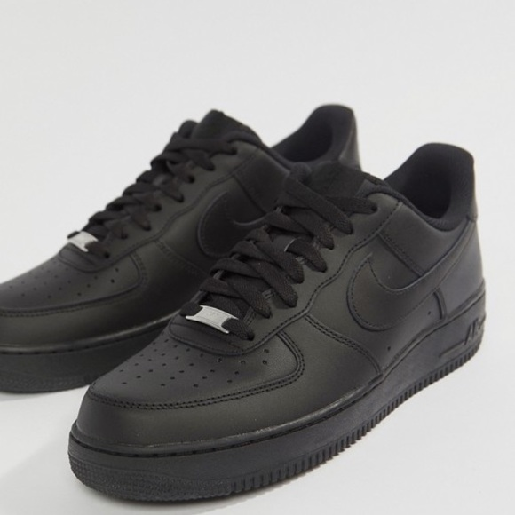 black air force size 6